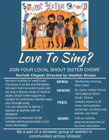 Shout Sister Norfolk is Welcoming New Members