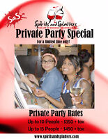 PRIVATE PAINT PARTY SPECIAL