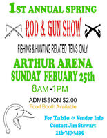 Rod and Gun Show,and Militaria show