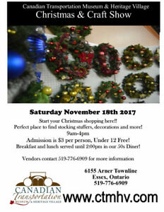 CTMHV Christmas and Craft Show 2017