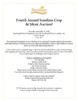 Sunshine Foundation 4th Annual Scrapbook Crop and Silent Auction