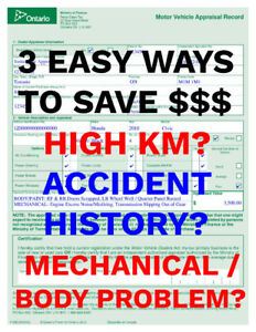 BUYING A USED VEHICLE? SAVE $100'S ON HST TAX AT MTO! $40