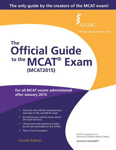 The official guide to Mcat exam 2015