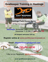Goalkeeper Training in Hastings