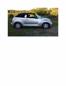CONVERTIBLE 2005 Chrysler PT Cruiser 2.4L Turbo, Touring edition