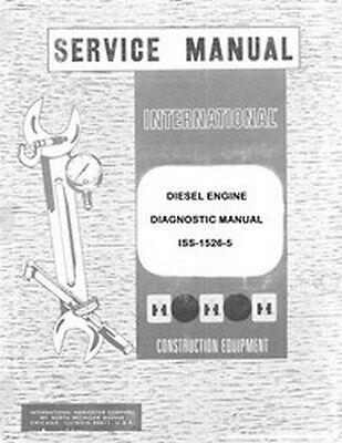 International 2444 3414 3444 385 W-450 464 484 574 584 684 Engine Service Manual