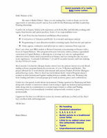 Resume and Cover Letter Editing and Creation
