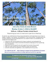 Oct 3/16 Radical Self Care 1-Day Retreat in Calgary