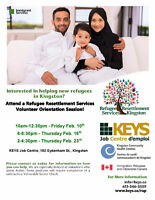 Volunteers Needed at KEYS for Refugee Resettlement Services