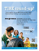 FREE tire recycling event!