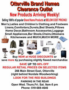 Otterville Brand Names Clearance Outlet London Ontario image 1