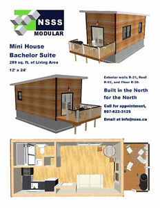Mini House Bachelor Suite