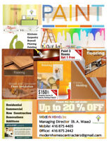 Professional PAINTING SERVICE available free estimate