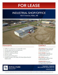 Nisku Industrial Shop/Office for Lease