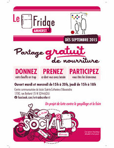 Participez au Fridge Amherst ! Centre Communautaire CCLSCA