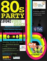 80s MUCH Video Dance Party - hosted by JACK 102.3's Matt Loop