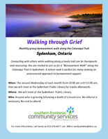 Walking through Grief - monthly bereavement walk in nature
