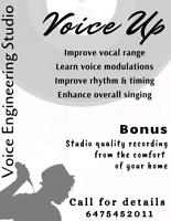 Voice Recording Studio Service