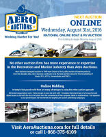 ONLINE BOAT & RV AUCTION!