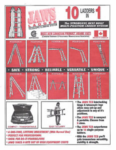 JAWS TCS LADDER - JLT 26 Telescopic Climbing System