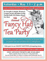 5th Annual FANCY HAT TEA PARTY