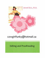 Edting and Proofreading