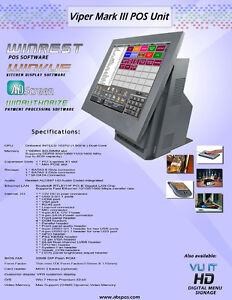 WinRest Restaurant management system POS