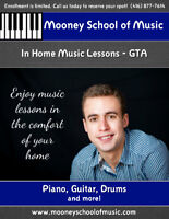 Music Lessons in Your Home!  MOONEY SCHOOL OF MUSIC - gta