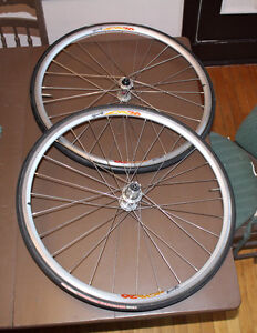 Miche Young 26 650C Wheelset ROUES Open Corsa CAMPY TRI