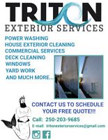 House Cleaning, Pressure Washing & More...