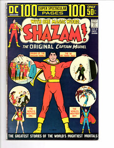 SHAZAM #8 (1973) VF/NM REPRINT OF BLACK ADAM'S FIRST APPEARANCE!