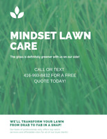 Durham Seasonal Lawn Care Promotion! Book before May 1st.