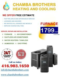 Furnace Installation and Service/ Repair