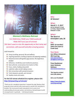 Women's Wellness Retreat, Mar 3-5/17, Christopher Lake, SK