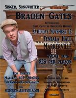 Braden Gates Concert