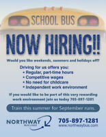 School Bus Driver - Join our Amazing Team!