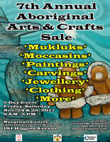 7th Annual Aboriginal Arts & Crafts Sale