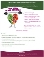 Nutrition: Hire a Certified Weight Loss Coach