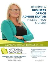 Earn your BUSINESS ADMINISTRATION DIPLOMA in 6 MONTHS!