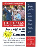 Fun & Easy square dancing - first 2 Free