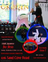 Okuden Martial Arts Academy Adult Japanese Jiu-jitsu