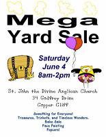 Mega Church Yard Sale - Fundraiser