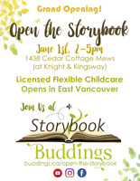 Opening the Storybook Buddings!
