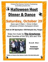 Halloween Hoot Dinner & Dance
