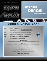 Get Up and Dance Summer Camp