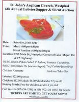 St. John's Anglican Church Lobster Supper & Silent Auction