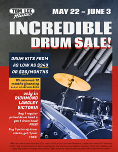 Incredible Drum Sale