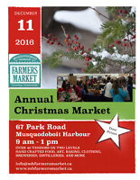 Annual Christmas Market at Musquodoboit Harbour Farmers Market