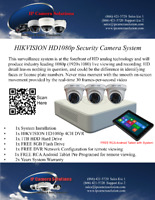 Security Camera System with FREE Tablet