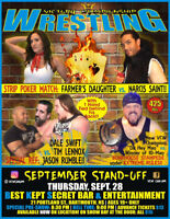 Live PRO WRESTLING Returns to Dartmouth!!